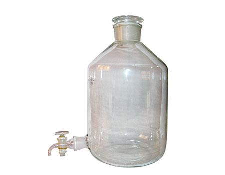 باریل شیشه ای شیر دار